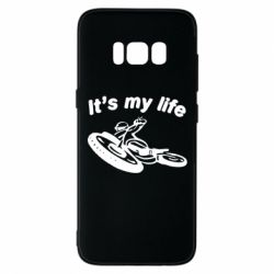 Чехол для Samsung S8 It's my moto life - FatLine