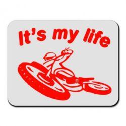 Коврик для мыши It's my moto life - FatLine