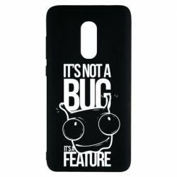 Чехол для Xiaomi Redmi Note 4 It's not a bug it's a feature