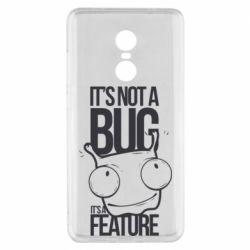 Чехол для Xiaomi Redmi Note 4x It's not a bug it's a feature