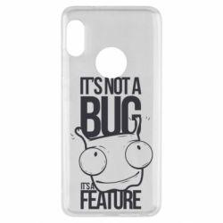 Чехол для Xiaomi Redmi Note 5 It's not a bug it's a feature