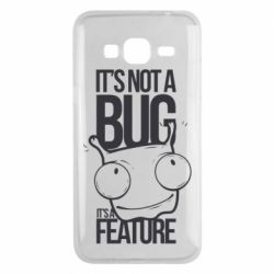 Чехол для Samsung J3 2016 It's not a bug it's a feature