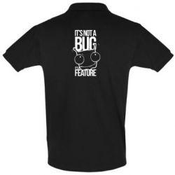 Мужская футболка поло It's not a bug it's a feature