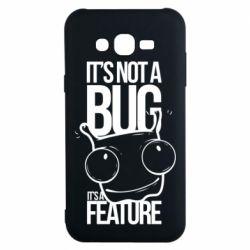 Чехол для Samsung J7 2015 It's not a bug it's a feature