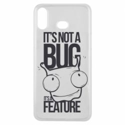Чехол для Samsung A6s It's not a bug it's a feature