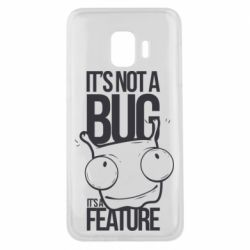 Чехол для Samsung J2 Core It's not a bug it's a feature