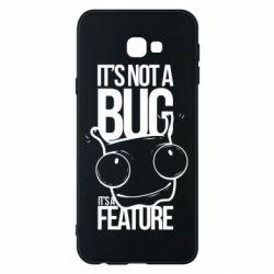 Чехол для Samsung J4 Plus 2018 It's not a bug it's a feature