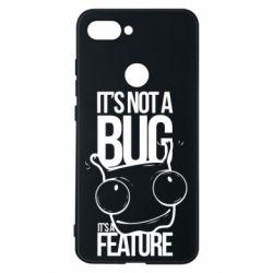 Чехол для Xiaomi Mi8 Lite It's not a bug it's a feature