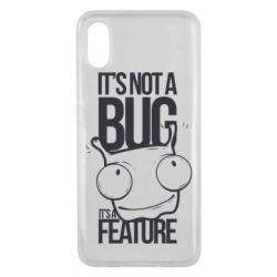 Чехол для Xiaomi Mi8 Pro It's not a bug it's a feature