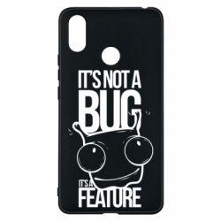 Чехол для Xiaomi Mi Max 3 It's not a bug it's a feature