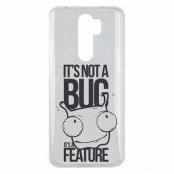 Чехол для Xiaomi Redmi Note 8 Pro It's not a bug it's a feature