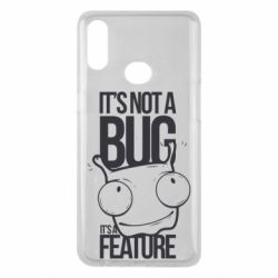Чехол для Samsung A10s It's not a bug it's a feature
