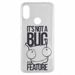 Чехол для Xiaomi Redmi Note 7 It's not a bug it's a feature