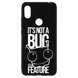 Чехол для Xiaomi Redmi S2 It's not a bug it's a feature