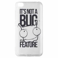 Чехол для Xiaomi Redmi Go It's not a bug it's a feature