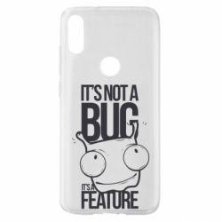 Чехол для Xiaomi Mi Play It's not a bug it's a feature