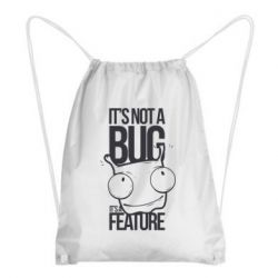 Рюкзак-мешок It's not a bug it's a feature
