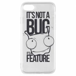Чехол для iPhone 7 It's not a bug it's a feature
