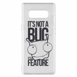 Чехол для Samsung Note 8 It's not a bug it's a feature