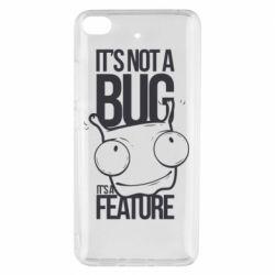 Чехол для Xiaomi Mi 5s It's not a bug it's a feature