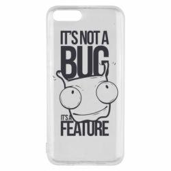 Чехол для Xiaomi Mi6 It's not a bug it's a feature