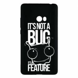 Чехол для Xiaomi Mi Note 2 It's not a bug it's a feature