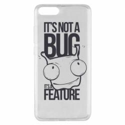 Чехол для Xiaomi Mi Note 3 It's not a bug it's a feature