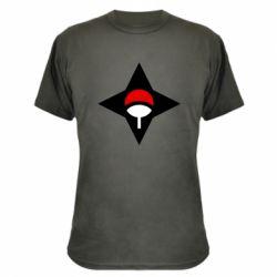 Камуфляжна футболка Itachi Uchiha symbol