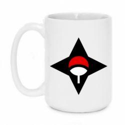 Кружка 420ml Itachi Uchiha symbol
