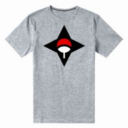 Чоловіча стрейчева футболка Itachi Uchiha symbol