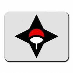 Килимок для миші Itachi Uchiha symbol