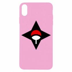 Чохол для iPhone X/Xs Itachi Uchiha symbol