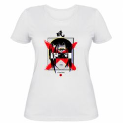 Жіноча футболка Itachi Uchiha