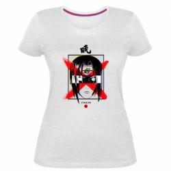 Жіноча стрейчева футболка Itachi Uchiha