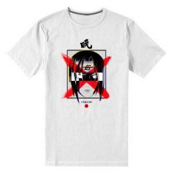 Мужская стрейчевая футболка Itachi Uchiha