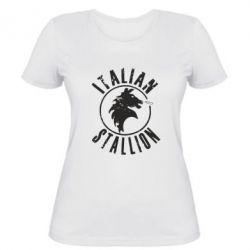 Женская футболка Italian Stallion