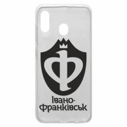 Чехол для Samsung A20 Ивано-Франковск эмблема