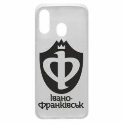 Чехол для Samsung A40 Ивано-Франковск эмблема