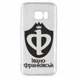 Чехол для Samsung S7 Ивано-Франковск эмблема