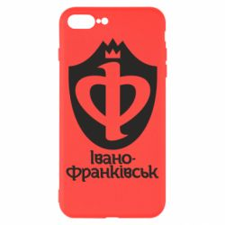 Чехол для iPhone 8 Plus Ивано-Франковск эмблема