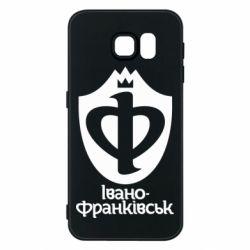 Чехол для Samsung S6 Ивано-Франковск эмблема