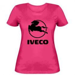Женская футболка IVECO - FatLine