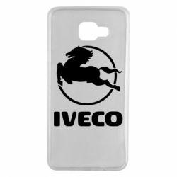 Чехол для Samsung A7 2016 IVECO