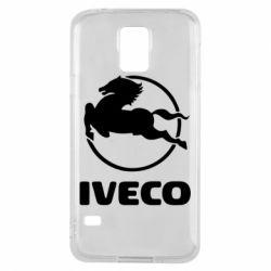 Чехол для Samsung S5 IVECO