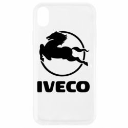 Чехол для iPhone XR IVECO