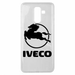 Чехол для Samsung J8 2018 IVECO