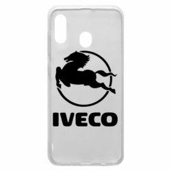 Чехол для Samsung A20 IVECO