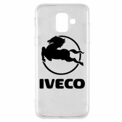 Чехол для Samsung A6 2018 IVECO