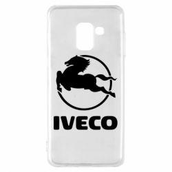 Чехол для Samsung A8 2018 IVECO