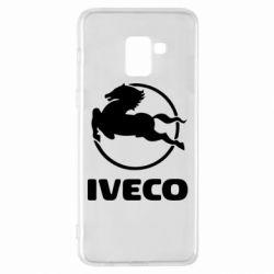 Чехол для Samsung A8+ 2018 IVECO